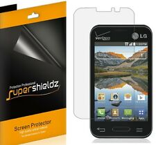 6X Supershieldz HD Clear Screen Protector Shield For LG Optimus Fuel / L34C