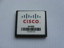 Genuine Cisco MEM1800-64CF 1801 1811 1841 MEM2800-64CF 2801 2811 2821 64Mb Flash