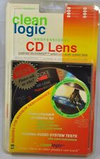 NEW Clean Logic Professional CD Lens Cleaner Hyperbrush Microfiber Disc CL311