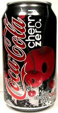 EMPTY UNOPEN Can Genuine American Coke Coca-Cola Cherry Zero USA Limited Ed 2008