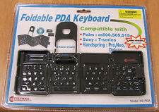 FOLDABLE PDA KEYBOARD - Palm, Sony, Handspring... NEW!