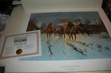 G Harvey TRADING AT THE GENERAL STORE, 1984 S/N paper Limited Edition MINT w/COA
