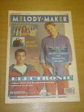 MELODY MAKER 1991 APRIL 13 ELECTRONIC WONDER STUFF