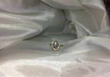 18kt Gold Diamond & 3.84 Carat Natural Star Sapphire size 5.75 !!!HD Video!!!