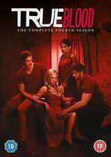 TRUE BLOOD COMPLETE SERIES 4 DVD Collection All Episode Season Fourth 4th Sealed