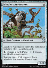 MTG MINDLESS AUTOMATON FOIL EXC - AUTOMA - EMA - MAGIC