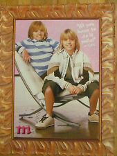 Dylan and Cole Sprouse, Full Page Pinup