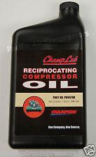 1 QUART CHAMPLUB RECIPROCATING COMPRESSOR OIL PO9479A