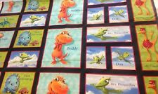 Dinosaur Train Tm Henson VIP Fabric Character Panel Buddy Shiny Tank Pterandodon