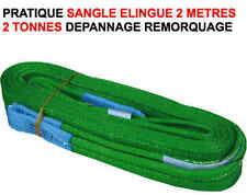 Pratique Sangle Elingue 2 M 2 T RAID 4X4 HDJ KDJ PATROL LAND JEEP PAJERO DEF