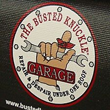 Black Busted Knuckle car mechanics fender cover paint protector vintage style