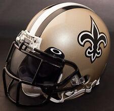 NEW ORLEANS SAINTS NFL Gameday REPLICA Football Helmet w/ OAKLEY Eye Shield