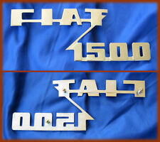 FIAT 1500 SPIDER - SCRITTA LOGO BADGE SCRIPT