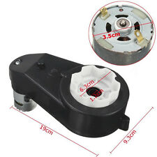 12V 23000 RPM Electric Motor Gear Box For Kids Ride On Car Toy Spare Parts GOOD