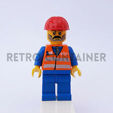 LEGO Minifigures - 1x trn001 - Train Worker - Omino Minifig Set 4513 4512 4514