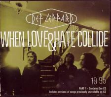DEF LEPPARD When Love & Hate COMPLETE 2 CD SET