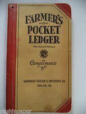 JOHN DEERE VINTAGE 71st ANNUAL EDITION FARMERS POCKET LEDGER UNION CITY 1937