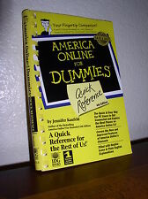 America Online for Dummies : Quick Reference by Jennifer Kaufeld (2000, PB)