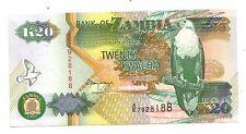 Zambia 20 kwacha  1992  FDS UNC  Pick 36 b   Lotto 3006