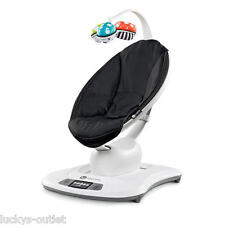 4Moms LCD MAMAROO SWING Adjustable Electric BABY BOUNCER Classic Black