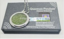 1x Quantum Science mini BioDisc 2 Scalar Energy Pendant stainless steel 5000ions