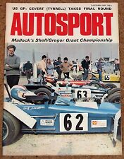 Autosport 7/10/71* US GP WATKINS GLEN - HOCKENHEIM INTERSERIE G7 - CLUB RACING
