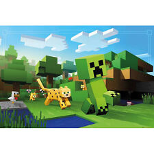 Minecraft - Ocelot Chase POSTER 61x91cm NEW * Video Game Creeper