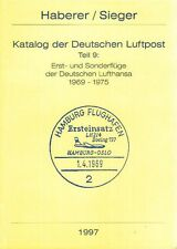 Haberer Erstflüge 1969-1975 Lufthansa first flights Germany eerste vluchten