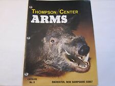 Vintage 1982 Thompson Center Arms Catalog No. 9 Firearms Rifles LOTS More Listed