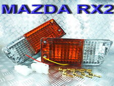 FRONT PARKING LIGHTS LAMPS  FIT FOR MAZDA CAPELLA RX2 RX-2