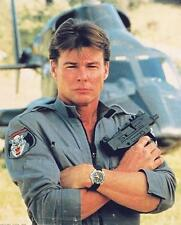 Jan-Michael Vincent as Stringfellow Hawke in Airwolf 24X30 Poster with copter