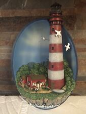 New Bradford Exchange Seaside Retreat Lighthouse Keepers Of The Shore Hanging 3D