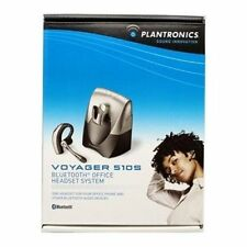 Plantronics Voyager 510S Bluetooth Wireless Ear-Hook Desk Phone Headset System