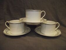 Set of 3 Lauren Ralph Lauren Vows Cups and Saucers - New with Tags
