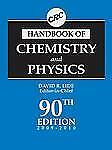 CRC Handbook of Chemistry and Physics, 90th Edition (CRC Handbook of C-ExLibrary