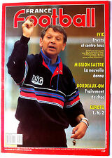 France Football 24/10/1989; Ivic/ Bordeaux-OM/ Mission Sastre/ Ferreri/ Mondial