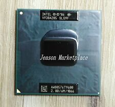 Intel core 2 duo T9600 (SLG9F) / 2.8 GHz / 6 M / 1066 cache processor