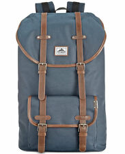 $145 Steve Madden MENS BLUE Utility BRIEFCASE BACKPACK WORK TRAVEL SCHOOL BAG