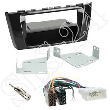 Mitsubishi Space Star ab13 Autoradio 2-DIN+Fach Radioblende+ISO Adapterkabel Set