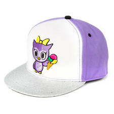 Neon Star by tokidoki Claire the Owl Baseball Cap Adjustable Fit Hat Snapback