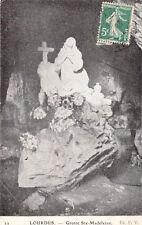 LOURDES 22 grottes sainte-madeleine timbrée