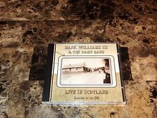 Hank Williams III 3 Rare Live In Scotland CD Factory Sealed Limited Edition Tour
