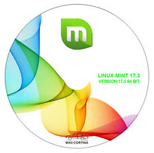 "Operating System - Linux Mint 18.1 ""Serena"" Cinnamon - 64-bit Live/Install Disc"