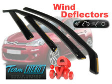 Citroen C3 2002-2010 5 Door Wind Deflectors 4 pcs HEKO (12225)
