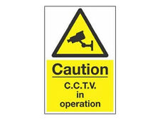Security Camera CCTV Camera Warning Sign (A4) UK Seller - Inside / Outside use