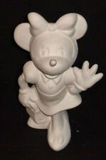 Ceramic Bisque Authentic Minnie Mouse Disney Mold MM U-Paint Ready To Paint