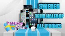 Súper rápido desbloqueo Telia Suecia Iphone 6 + 6 5s 5c 5 4s 4 Factory Unlock