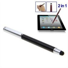 2in1 Universal Touch Screen Pen Stylus For iPhone iPad Samsung Tablet Phone PC F