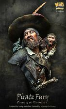 Nutsplanet Pirate Fury Buccaneer with Monkey Unpainted 1/10th scale bust kit