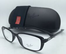 New RAY-BAN Eyeglasses LITEFORCE RB 7037 5206 53-17 145 Shiny Black Frames